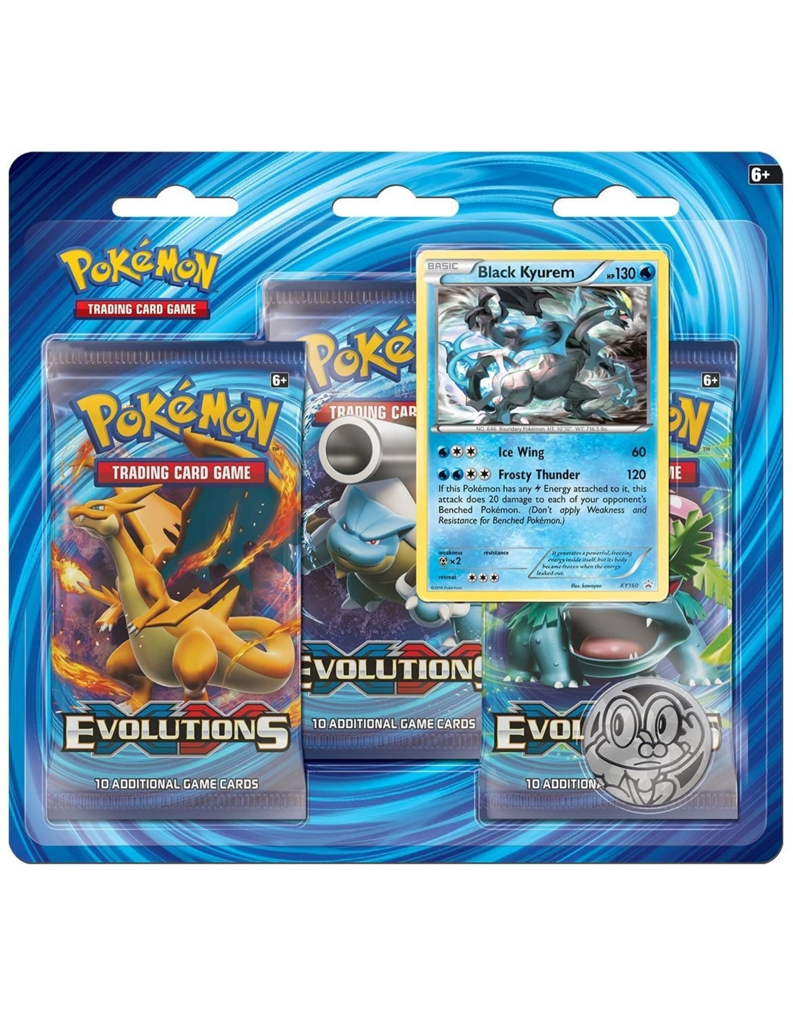 XY Evolutions 3 pack blister - LegendaryCards.eu