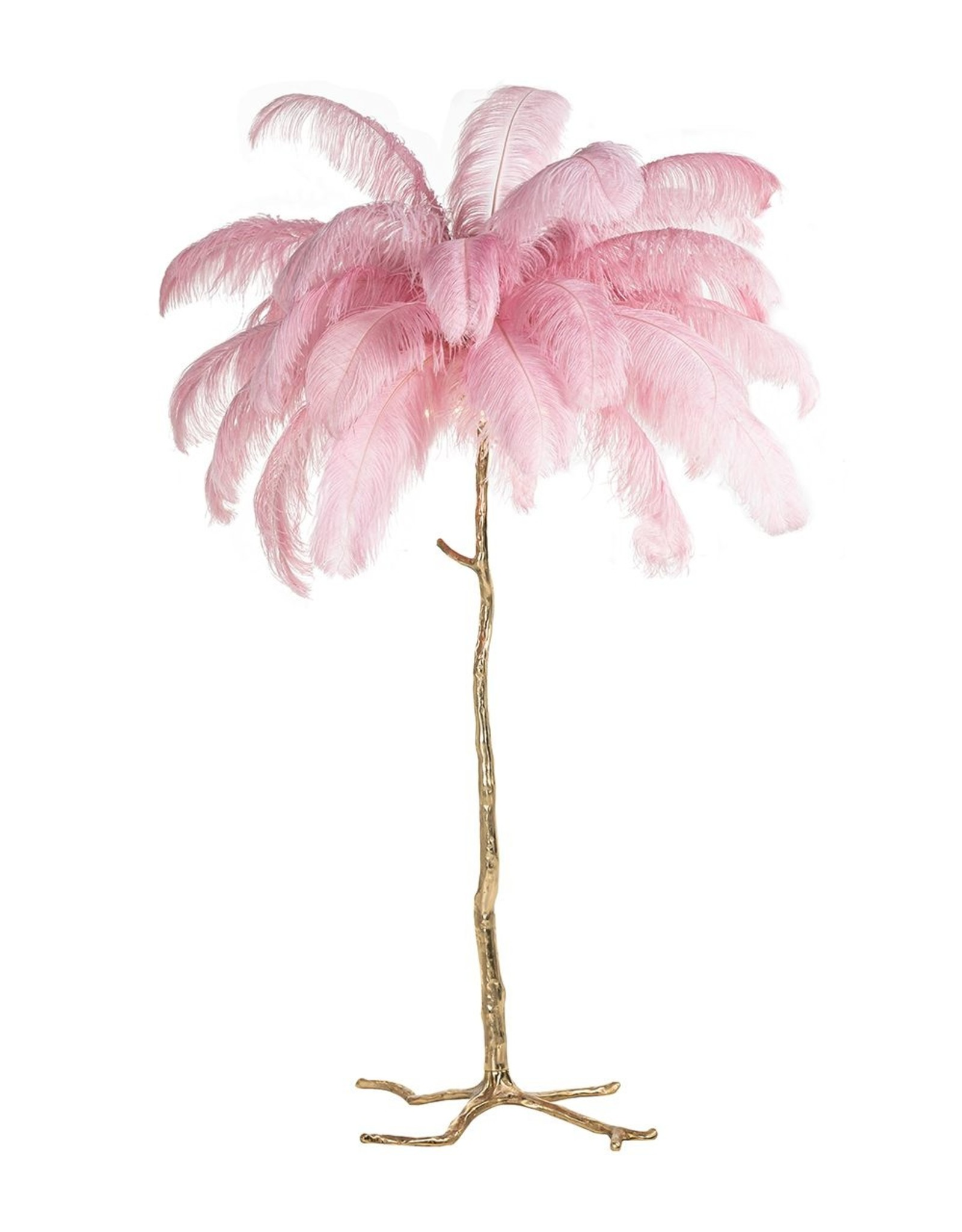 Richmond Interiors Vloerlamp Burlesque roze