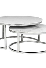 Richmond Interiors Salontafel Levanto set van 2 rond