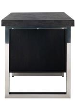 Bureau Blackbone silver 1-deur zilver
