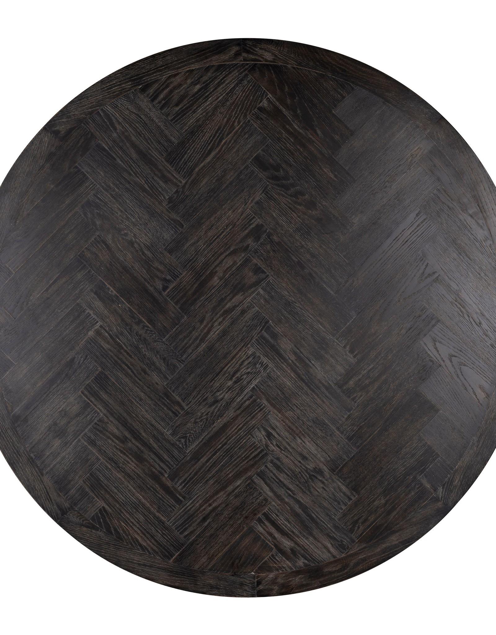 Eettafel Blackbone rond Ø140 zilver