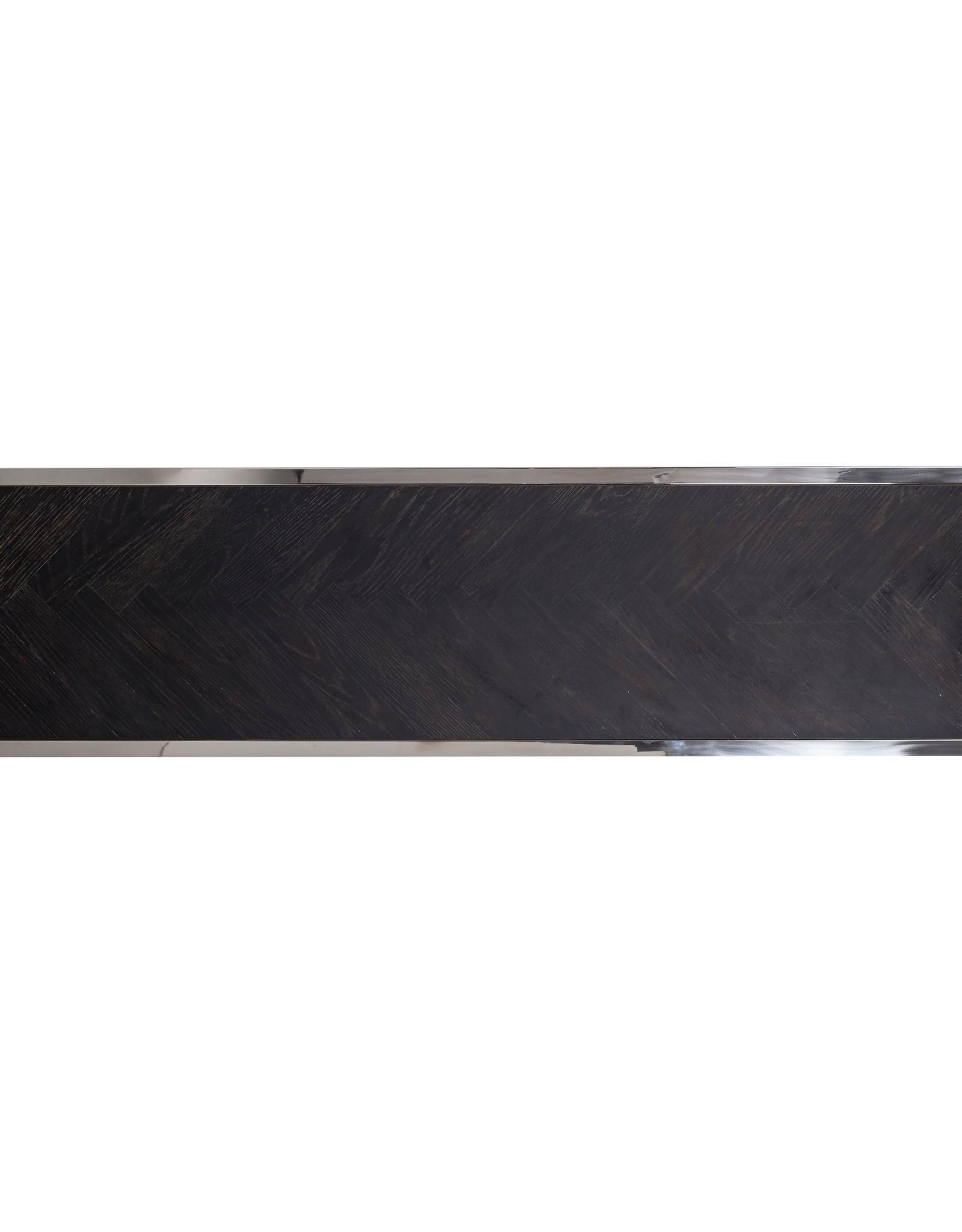 Richmond Interiors Wandtafel Blackbone zilver