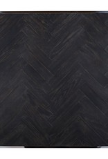 Richmond Interiors Salontafel Blackbone zilver 90x90