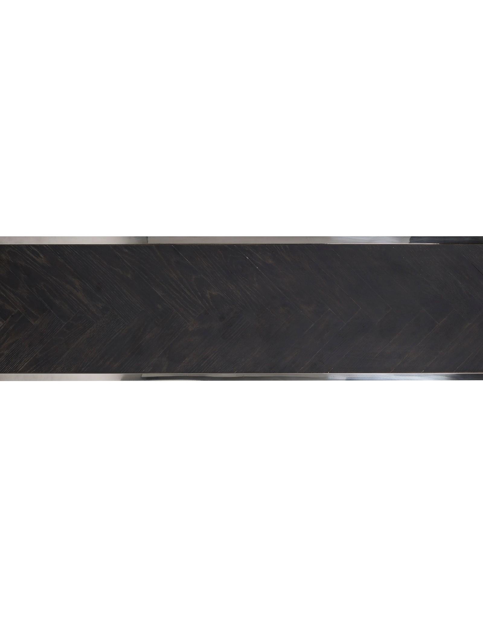 Richmond Interiors TV-dressoir Blackbone zilver