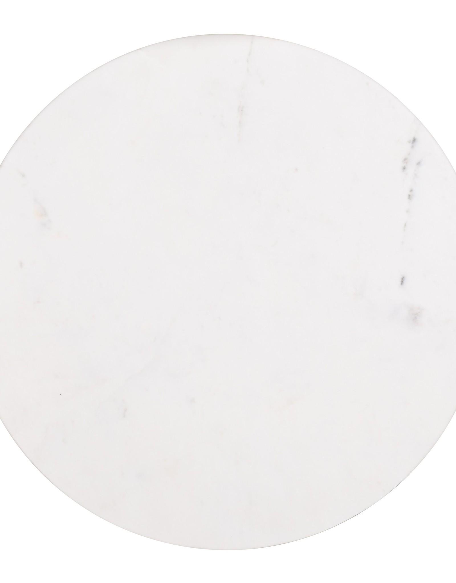 Richmond Interiors Bijzettafel Lexington white set van 2