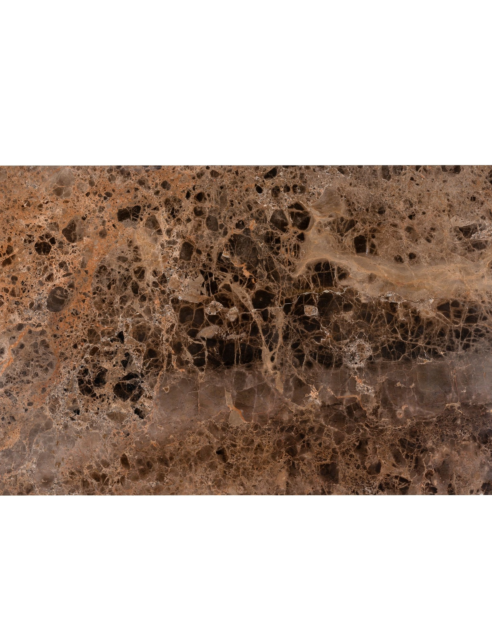 Richmond Interiors Salontafel Orion met bruin marmer