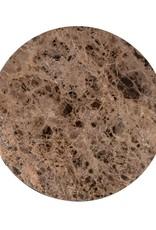 Richmond Interiors Salontafel Orion 80Ø met bruin marmer