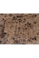 Richmond Interiors Sofa tafel Orion met bruin marmer