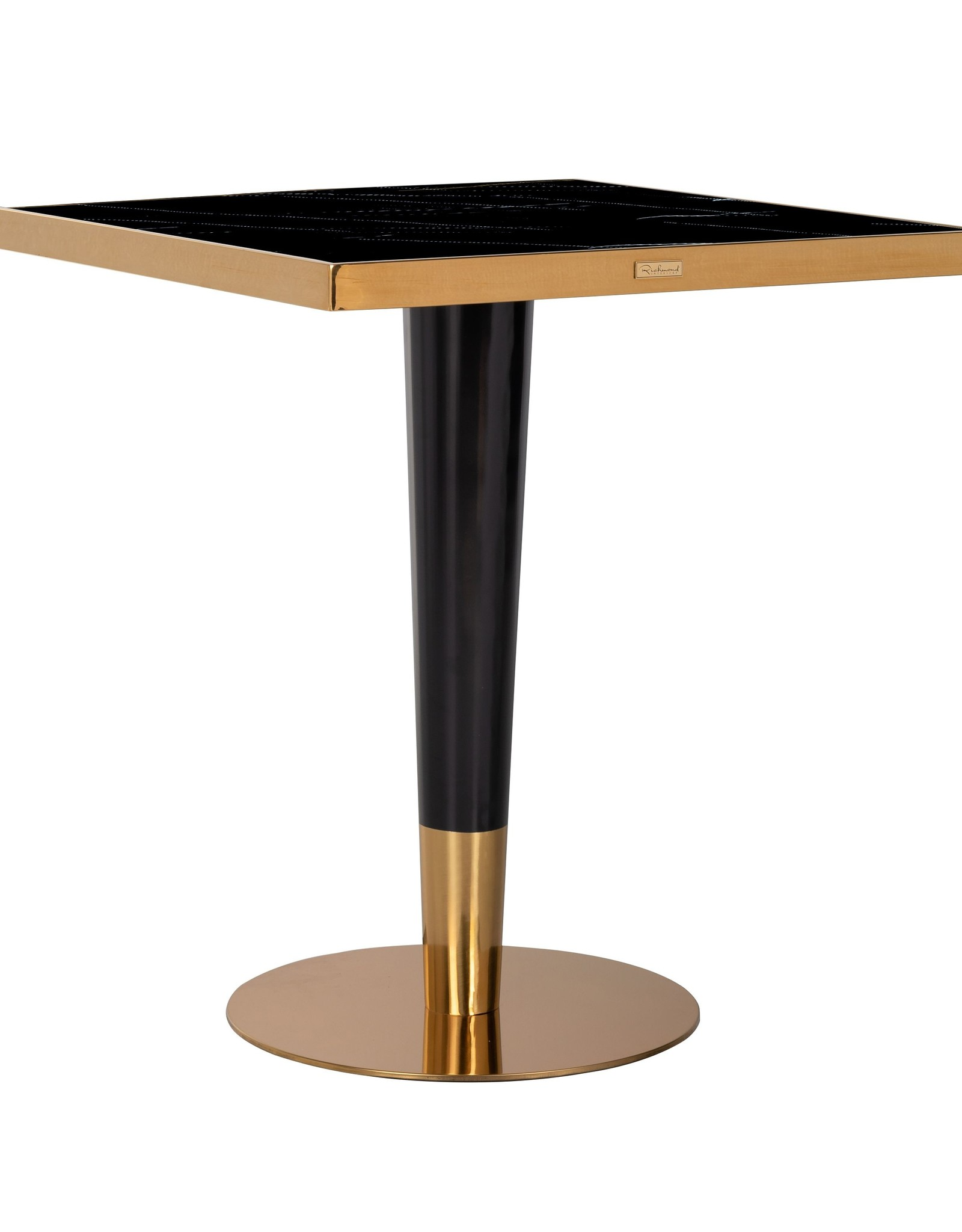 Richmond Interiors Eettafel Can Roca square black 70x70