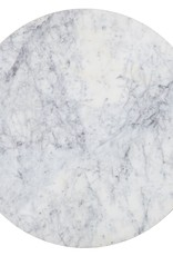 Richmond Interiors Bijzettafel Lacey met marmeren top (set 2)