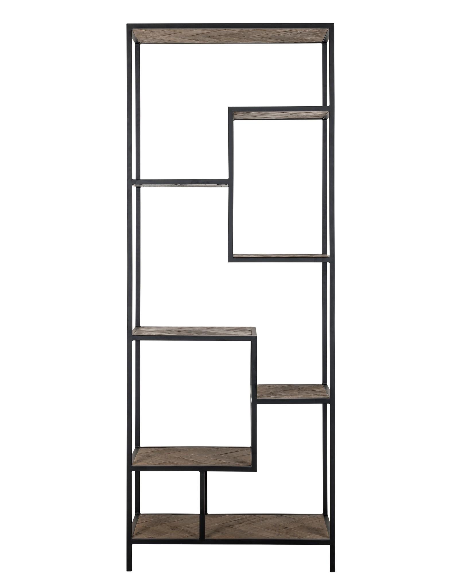Richmond Interiors Wandkast Herringbone 7-planken