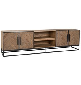 Richmond Interiors TV-dressoir Herringbone 4-deuren