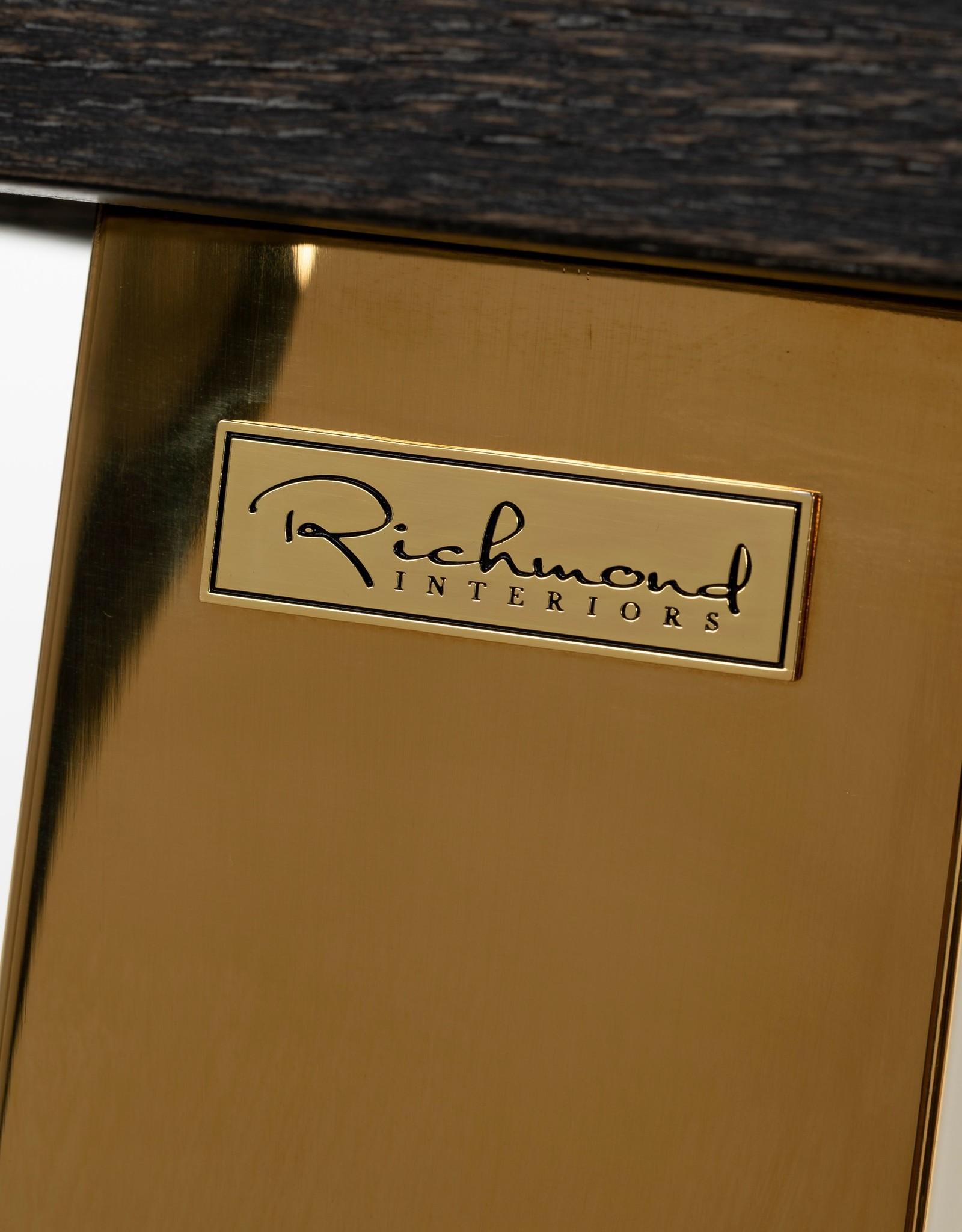 Richmond Interiors Bartafel Blackbone gold 160 (Goud)