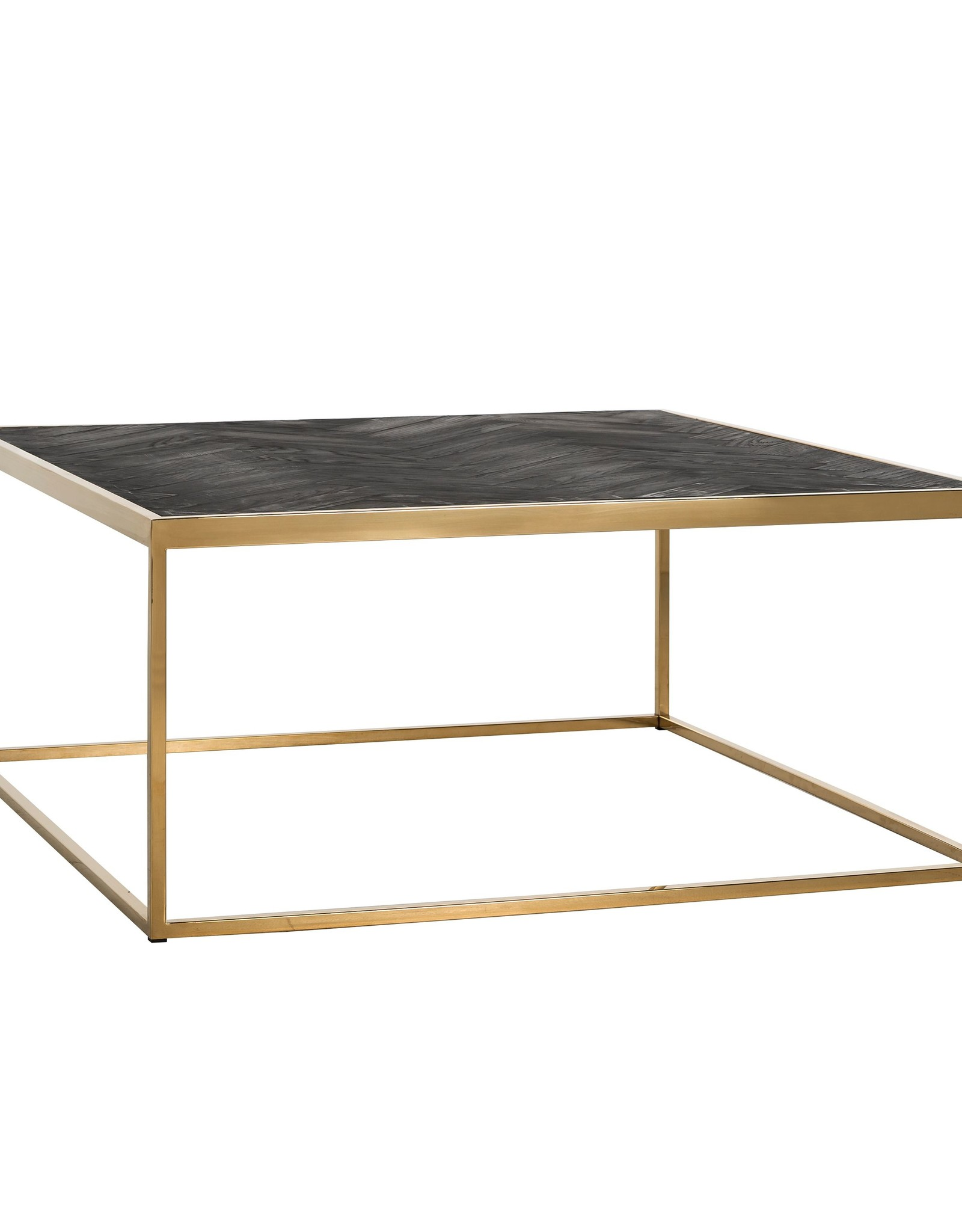 Richmond Interiors Salontafel Blackbone gold 90x90