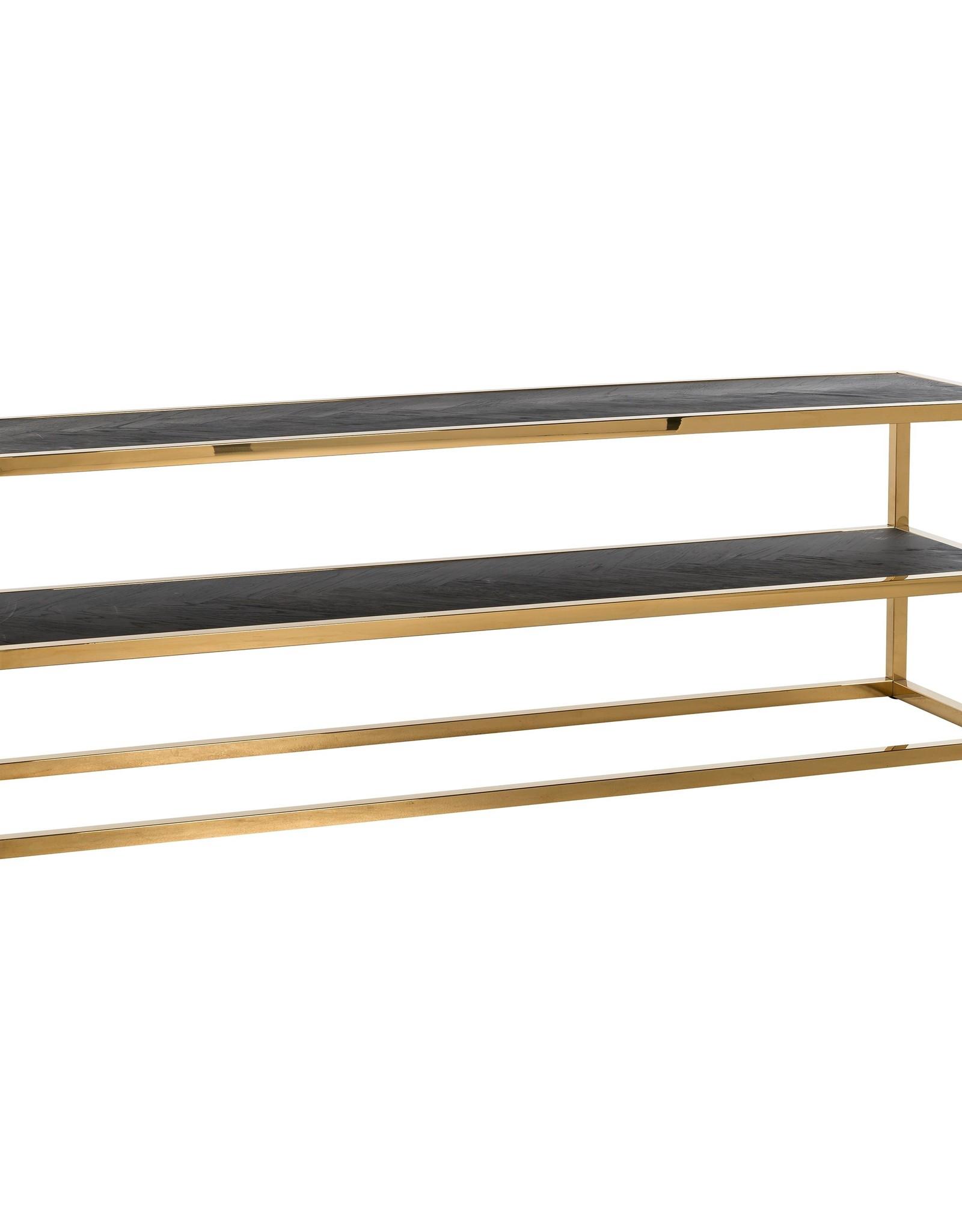Richmond Interiors TV-dressoir Blackbone gold