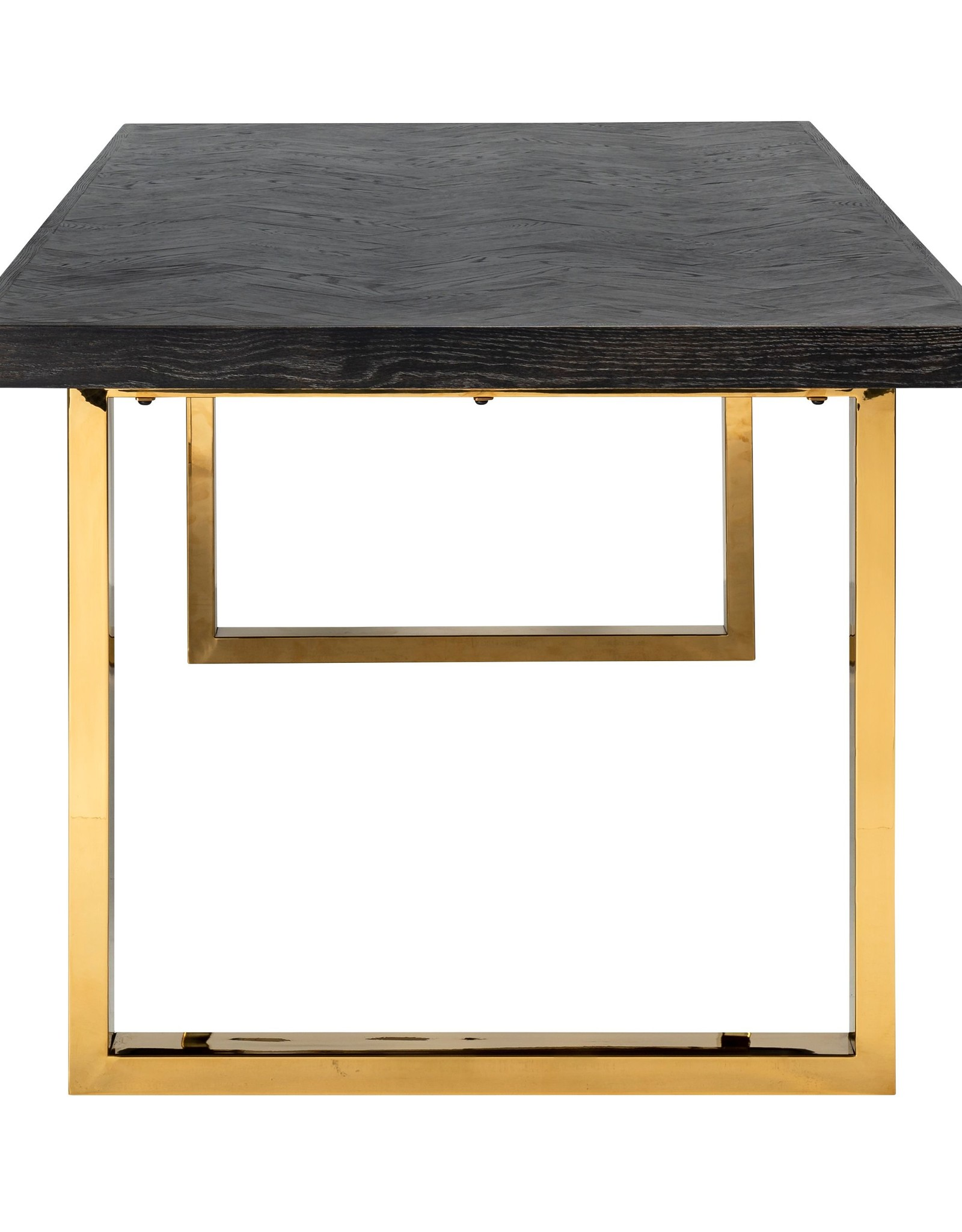 Richmond Interiors Eettafel Blackbone gold 220