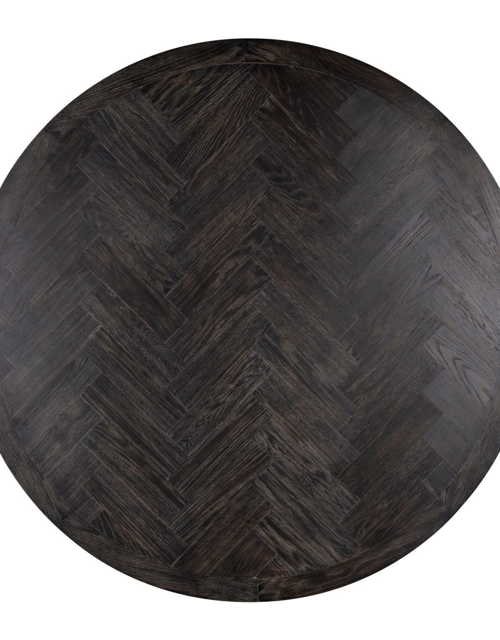 Richmond Interiors Eettafel Blackbone gold rond Ø140
