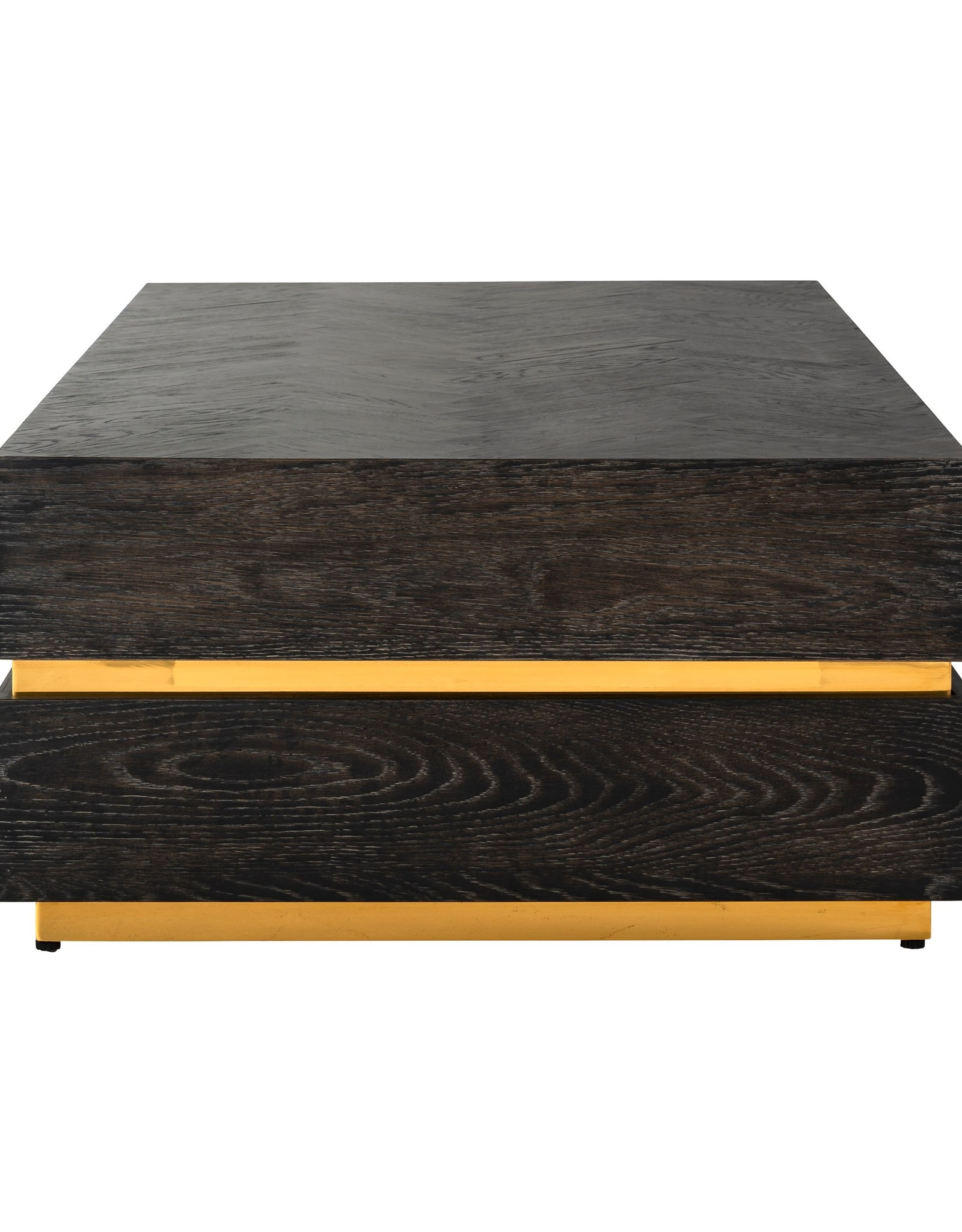 Richmond Interiors Salontafel Blackbone gold 150x80