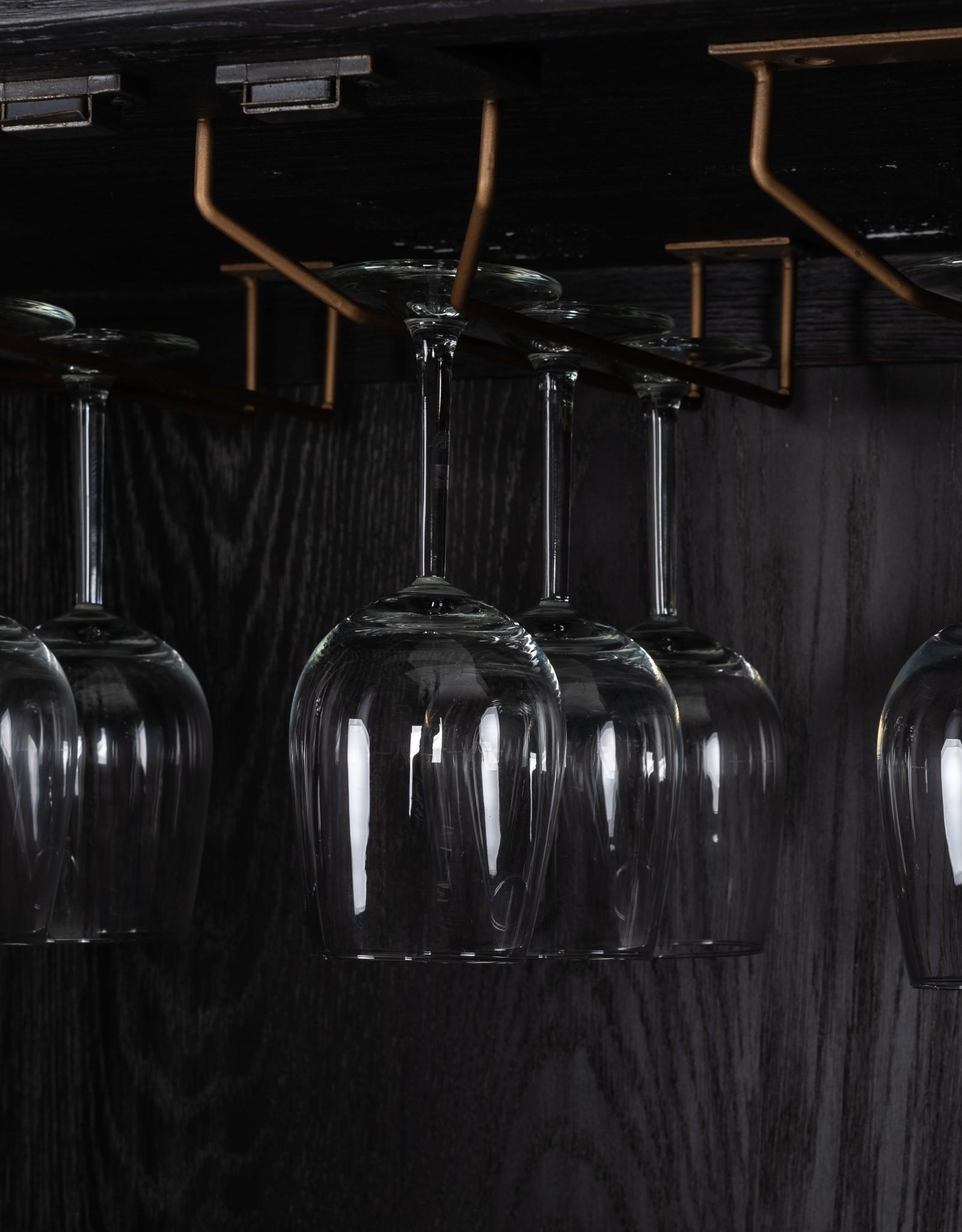 Richmond Interiors Barkast Bloomingville 2-deuren shagreen
