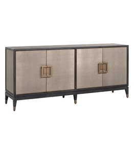 Richmond Interiors Dressoir Bloomingville 4-deuren shagreen