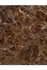 Richmond Interiors Bijzettafel Conrad met faux emperador marmer (Goud)