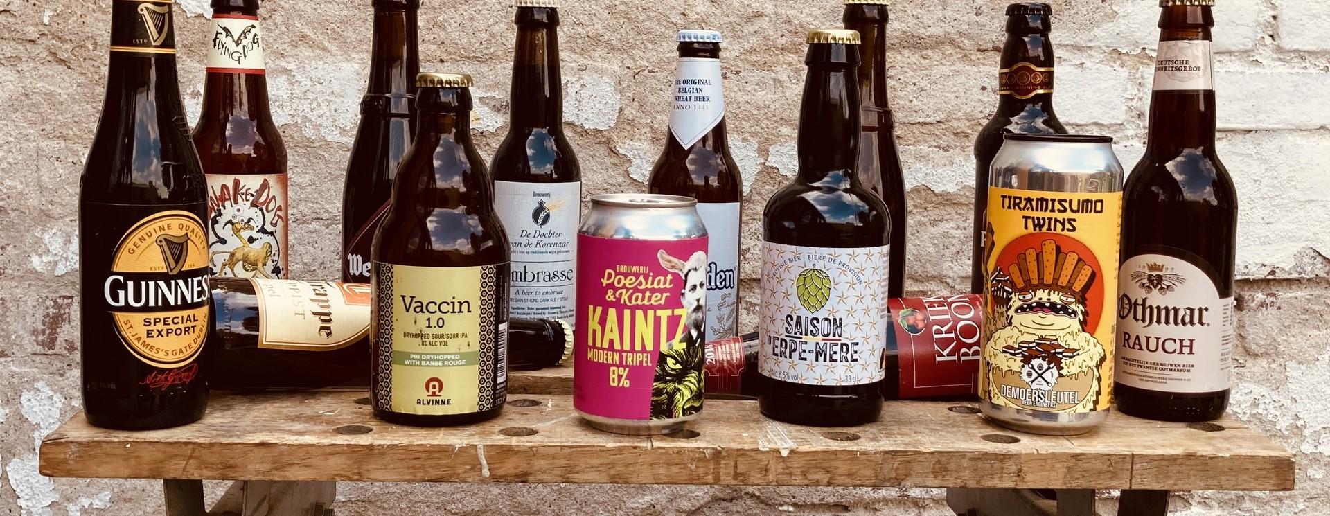 Meld je aan als lid! En ontvang om de maand een uniek bierpakket met bier, bier gerelateerde producten en interessante extra's.