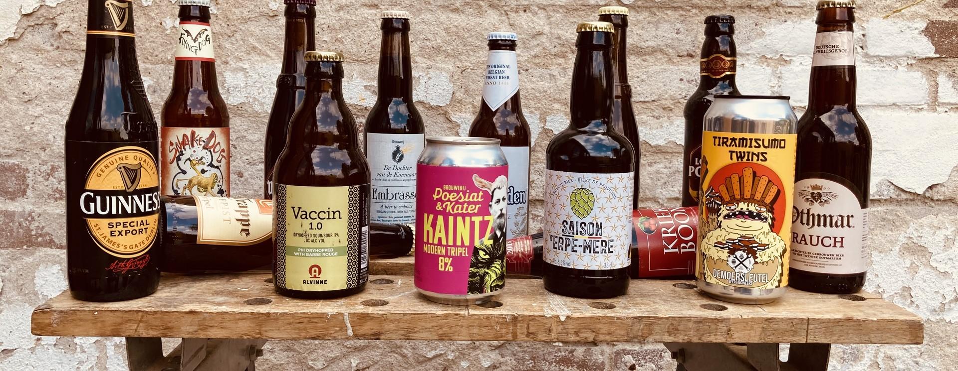 Word lid! Ontvang om de maand een bijzondere box met mooie bieren en andere producten! Gratis verzending!