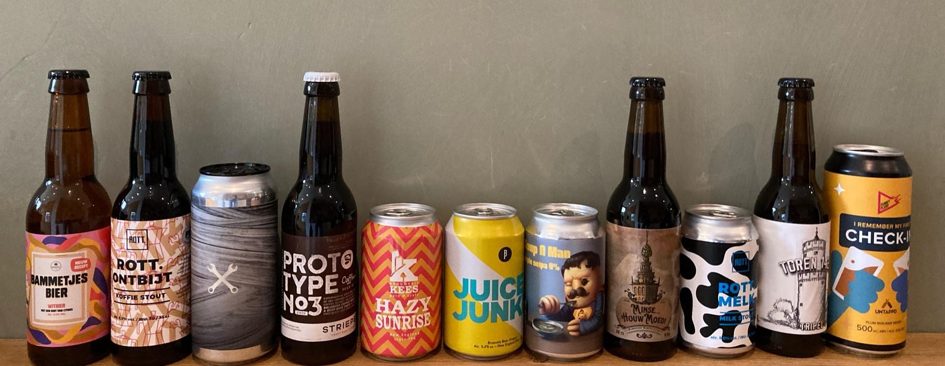 Op zoek naar een mooi bierpakket? Bekijk hieronder ons ruime assortiment speciaalbieren!