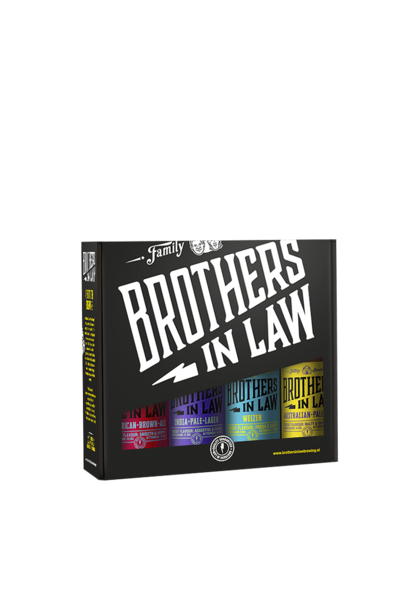 Brothers In Law Brothers Cadeauverpakking 4-Pack