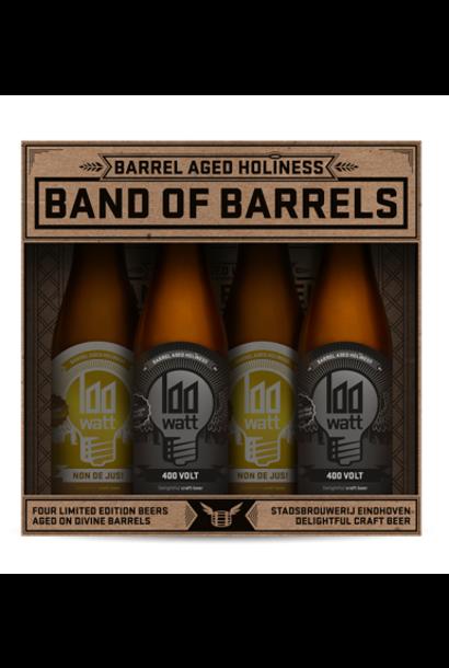 100 Watt Band of Barrels cadeauverpakking 4-Pack