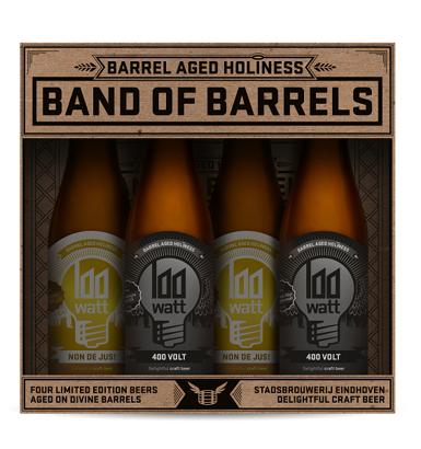 100 Watt Band of Barrels cadeauverpakking 4-Pack-1
