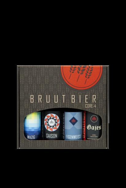 Brouwerij Bruut Cadeauverpakking 4-Pack