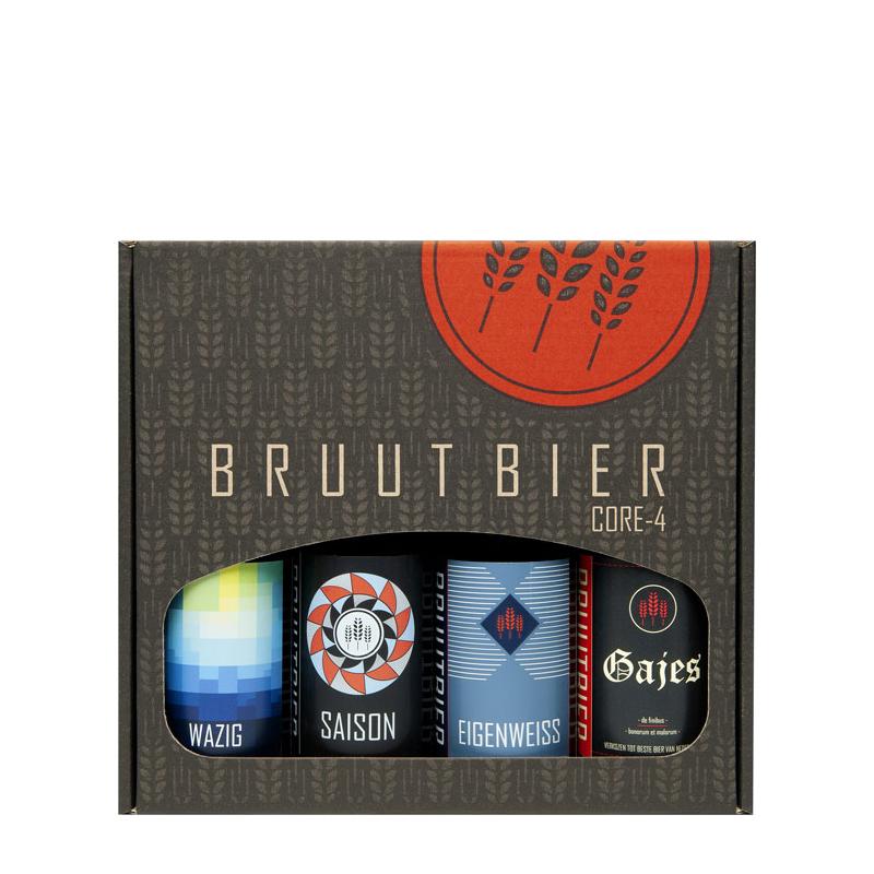 Brouwerij Bruut Cadeauverpakking 4-Pack-1