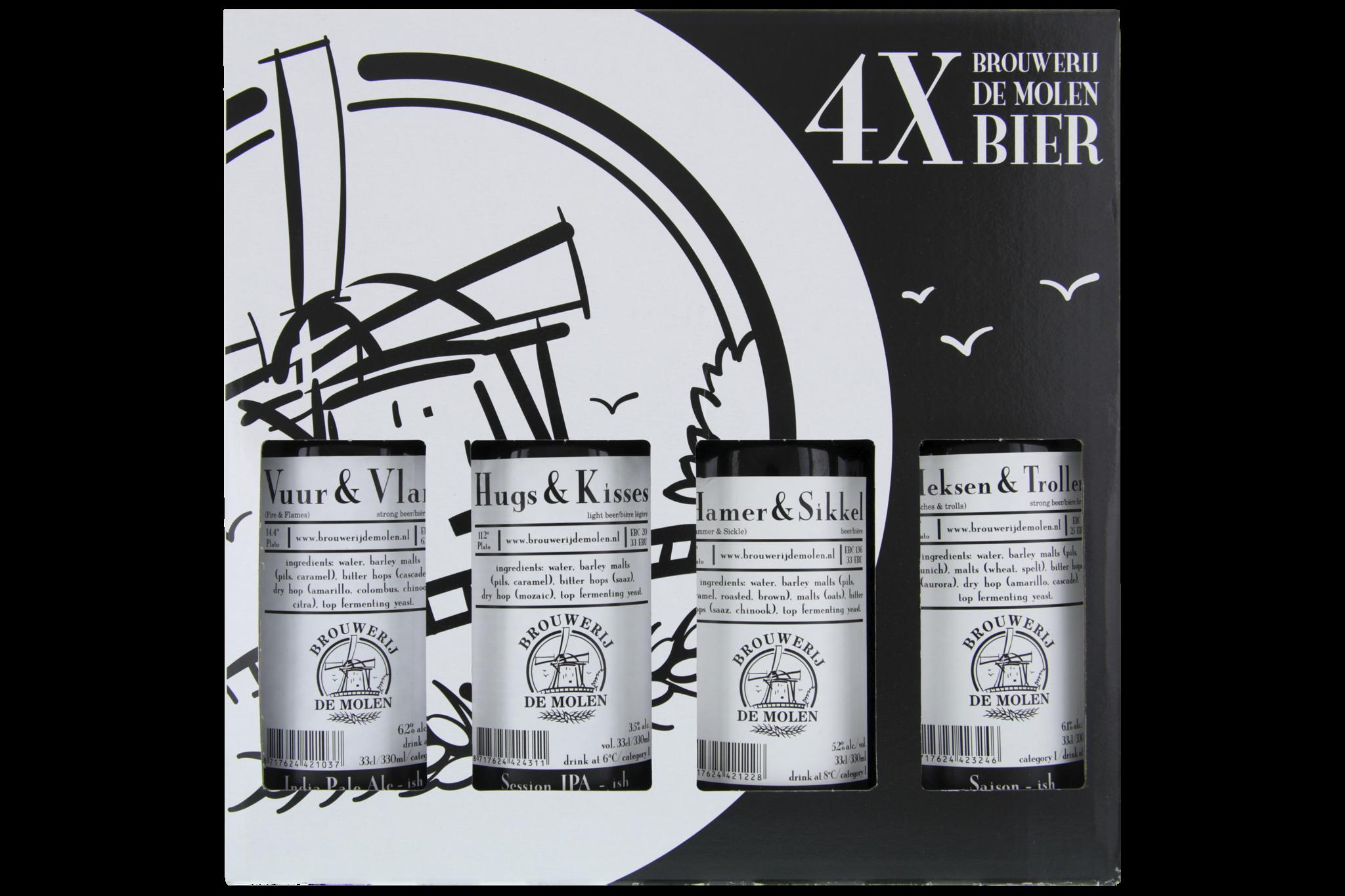 Brouwerij de Molen Cadeau 4-Pack-1