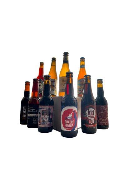 Bierpakket Rijk & Donker - XL - 10 bieren