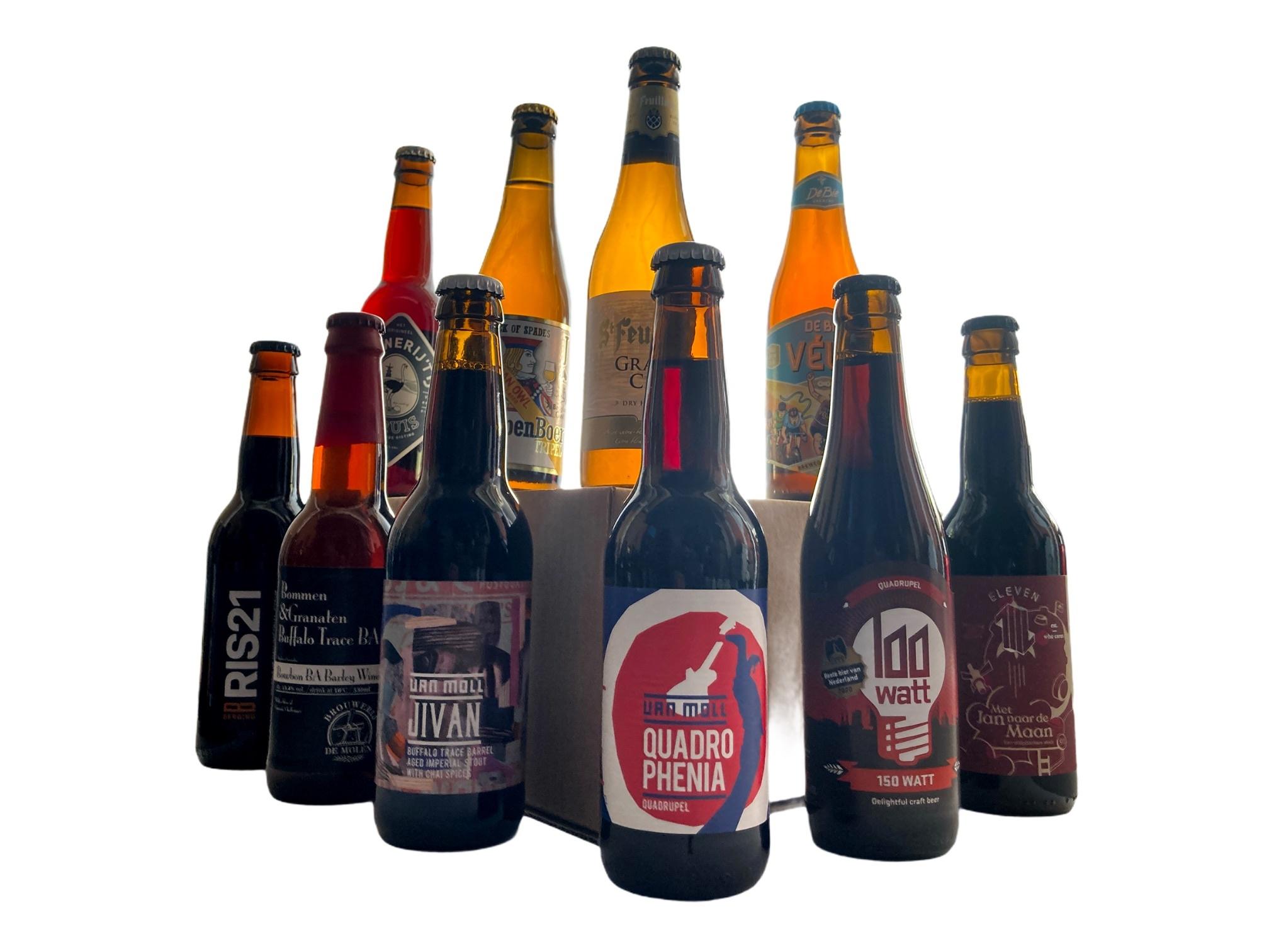 Bierpakket Rijk & Donker - XL - 10 bieren-1