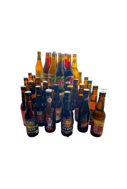 Bierpakket XXXL - 30 bieren