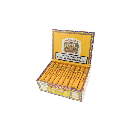 Partagas Coronas Senior A/T Tubos Zigarren