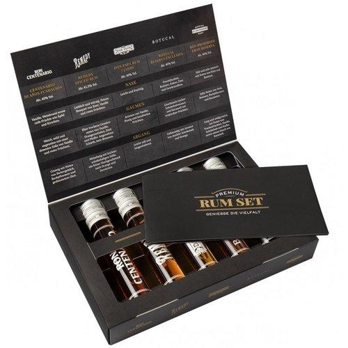 Premium Rum Tasting Set 5 x 0,05 Liter