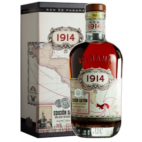 Ron 1914 Edicion Gatun 41,3% 0,7L