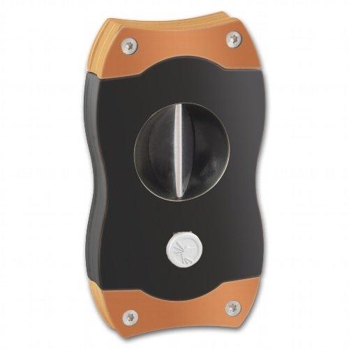 CigarcutterColibri V-CUT schwarz/rosegold 23mm Durchmesser