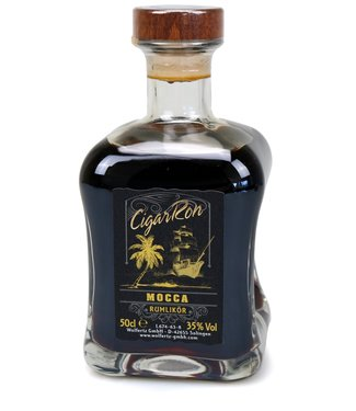 CigarRon Rum Mocca Rumlikör (0,5 l / 35 % Vol.)