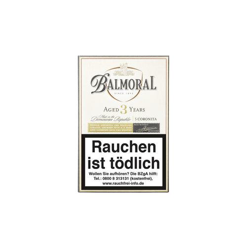 Balmoral Aged 3 Years  Coronitas Zigarren