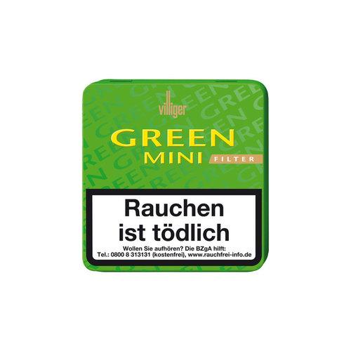 Villiger   Zigarillos Green Mini Filter