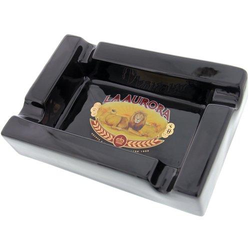 Aschenbecher La Aurora Zigarrenascher schwarz