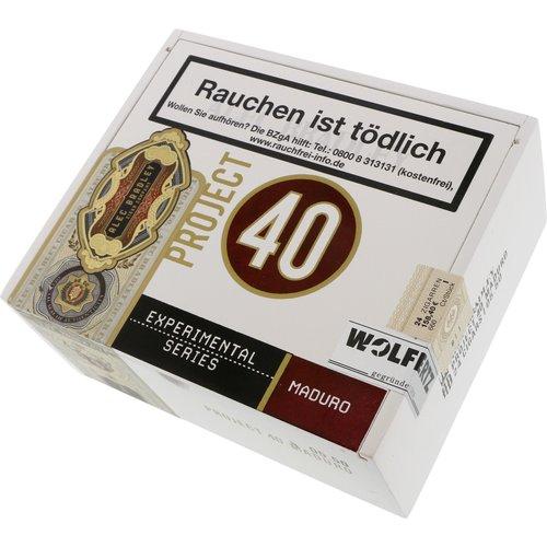 Alec Bradley  Project 40 Maduro Robusto 05.50 Zigarren
