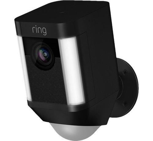 Ring Ring Spotlight Cam Battery Zwart