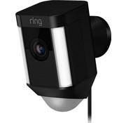 Ring Ring Spotlight Cam Wired Zwart