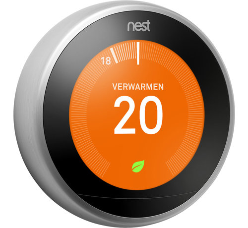 Nest Google Nest Learning Thermostat (3e generatie) - Zilver