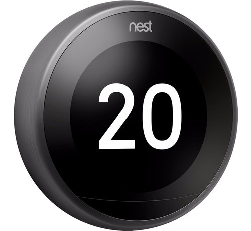 Nest Google Nest Learning Thermostat (3e generatie) -  Zwart